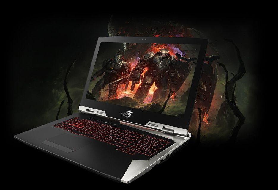 ASUS ROG G703GI - pierwszy laptop z nowymi procesorami Intel Coffee Lake