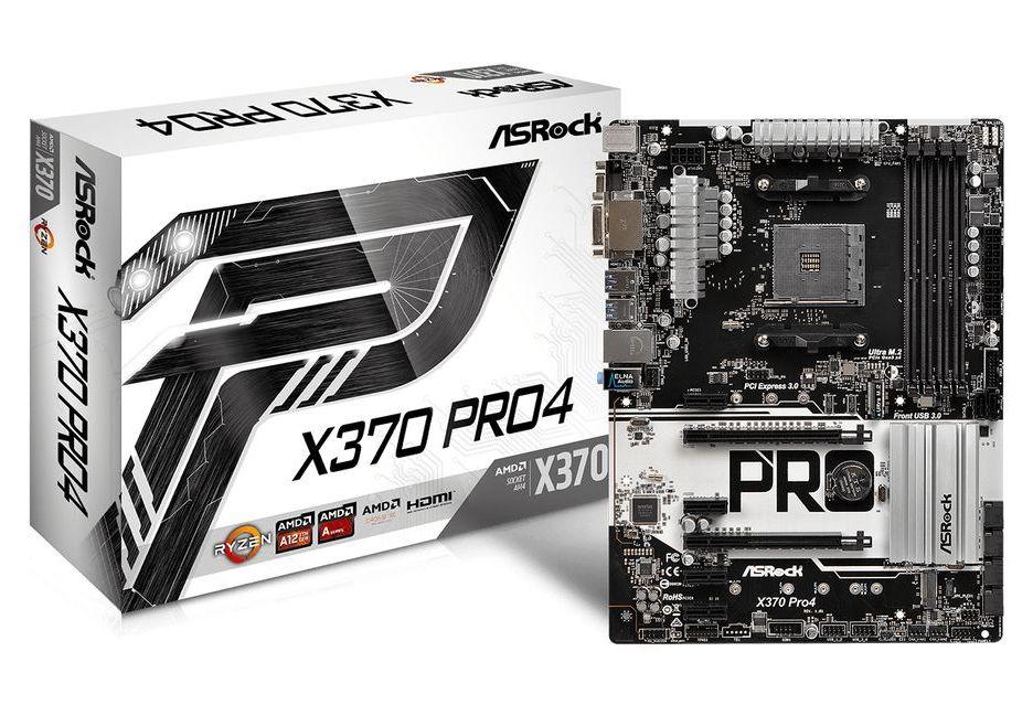 ASRock prezentuje płytę X370 Pro4 - prawie jak AB350 Pro4