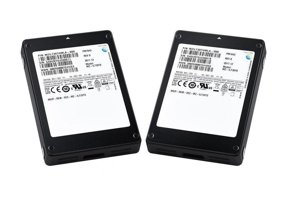 Samsung rozpoczyna masową produkcję SSD o pojemności 30 TB