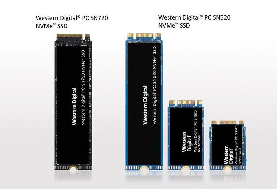 Western Digital prezentuje nośniki PC SN720 i PC SN520