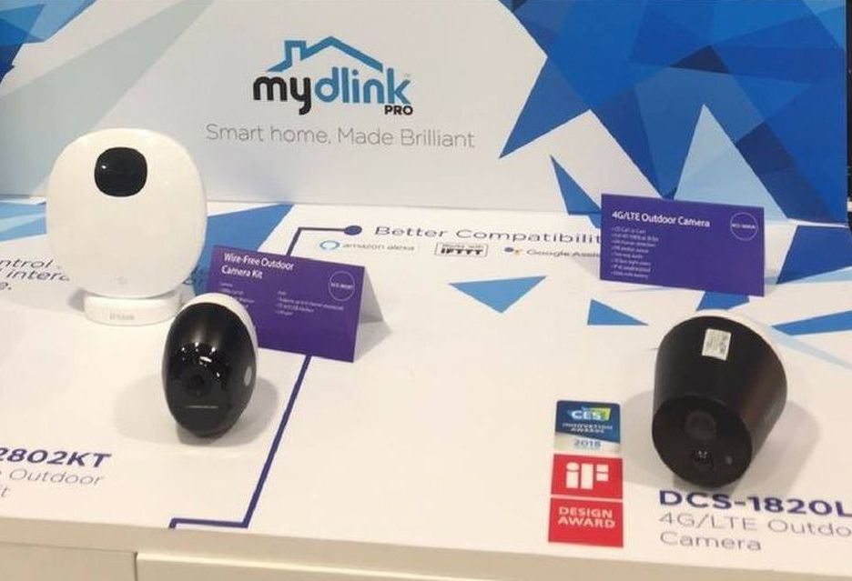 D-Link na targach MWC - nowe kamery mydlink Pro