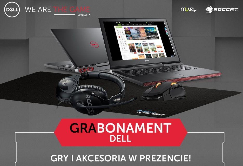 Druga edycja promocji Dell Grabonament - można zgarnąć gry i akcesoria gamingowe