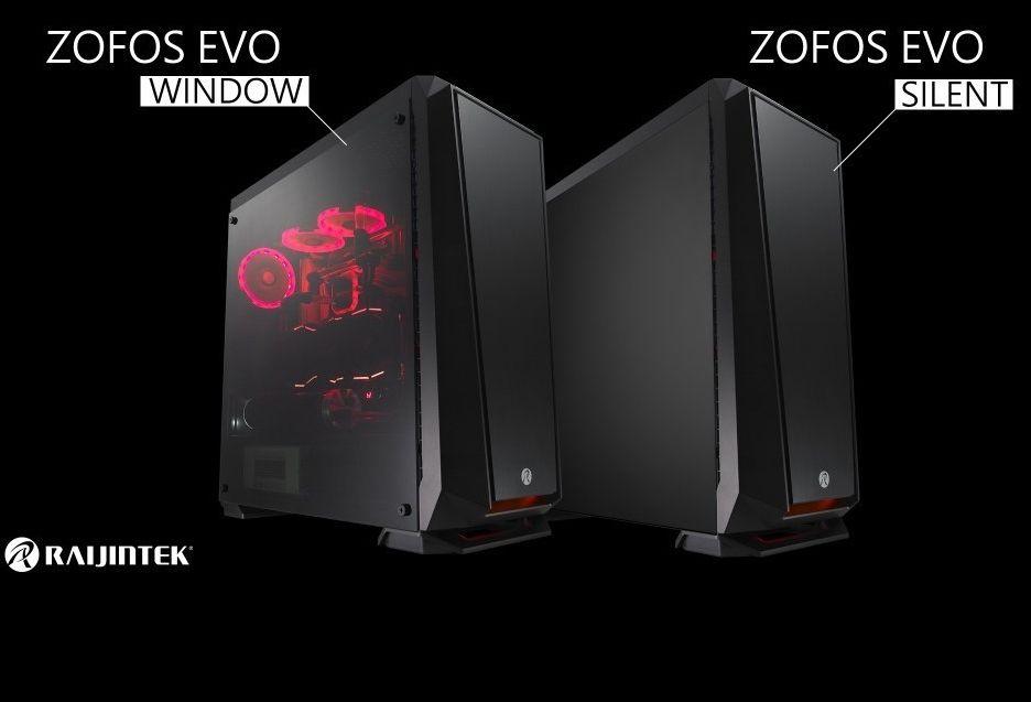 Raijintek przedstawia obudowę ZOFOS EVO
