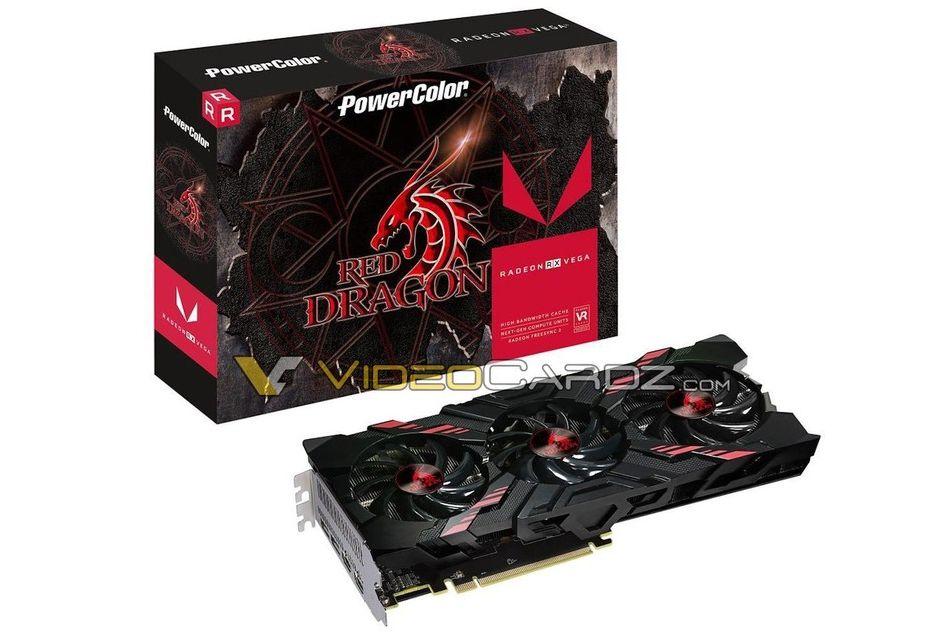 PowerColor szykuje karty Radeon RX Vega w niereferencyjnej wersji Red Dragon [AKT.]
