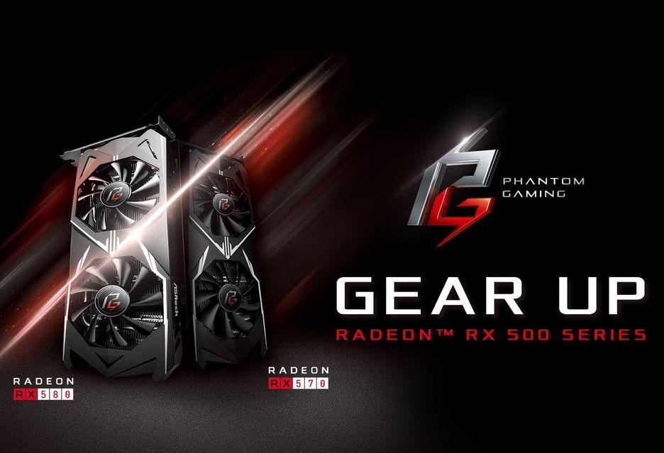 ASRock oficjalnie wchodzi na rynek kart graficznych - na początek Radeon RX 580, 570, 560 i 550