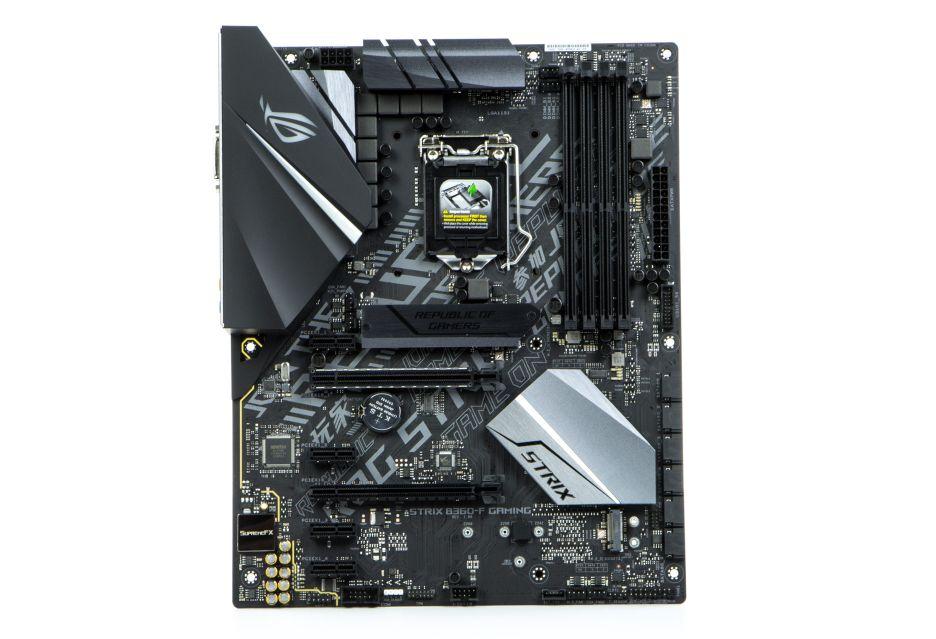 ASUS ROG STRIX B360-F Gaming - tańszy chipset, niezłe wyposażenie | zdjęcie 3