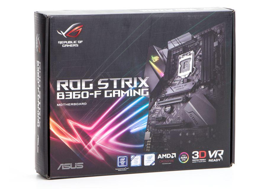 ASUS ROG STRIX B360-F Gaming - tańszy chipset, niezłe wyposażenie | zdjęcie 2
