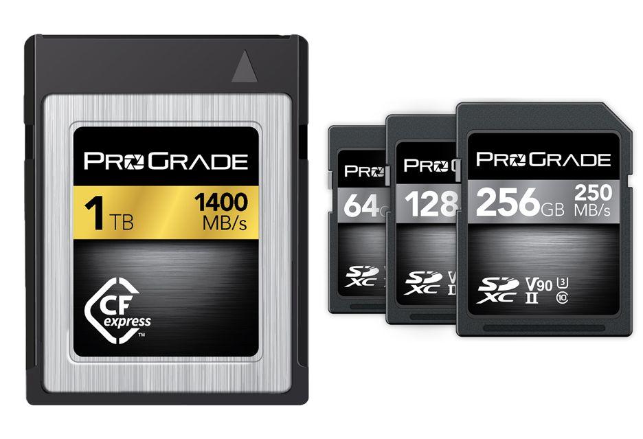 Pierwsza karta pamięci CFexpress o pojemności 1TB i superszybkie pamięci SD