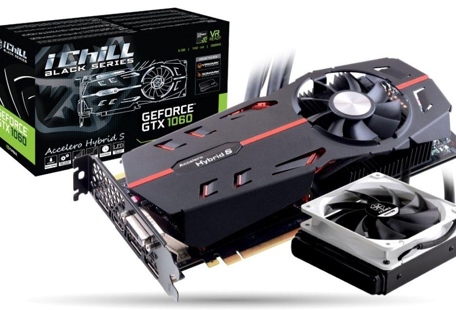 Inno3D GeForce GTX 1060 Ichill Black: czyli wersja z chłodzeniem cieczą
