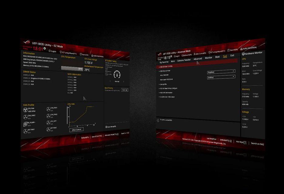 ASUS usprawni UEFI BIOS - jakie funkcje pojawią się w nowych płytach głównych?