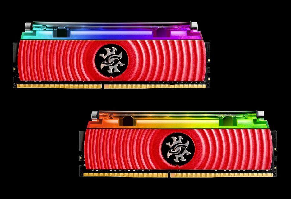 ADATA prezentuje pierwsze pamięci DDR4 z chłodzeniem cieczą (i podświetleniem RGB LED)