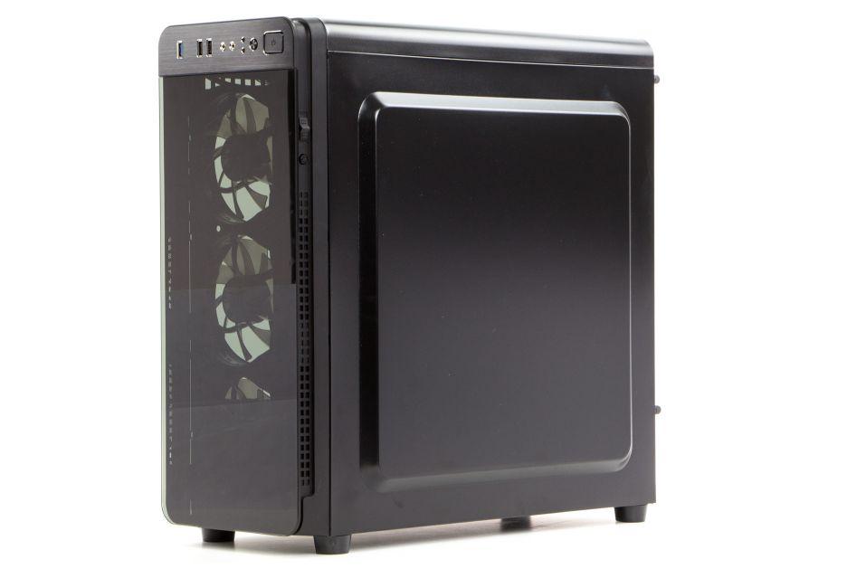 Genesis Irid 300 – test taniej obudowy z hartowanym szkłem | zdjęcie 1
