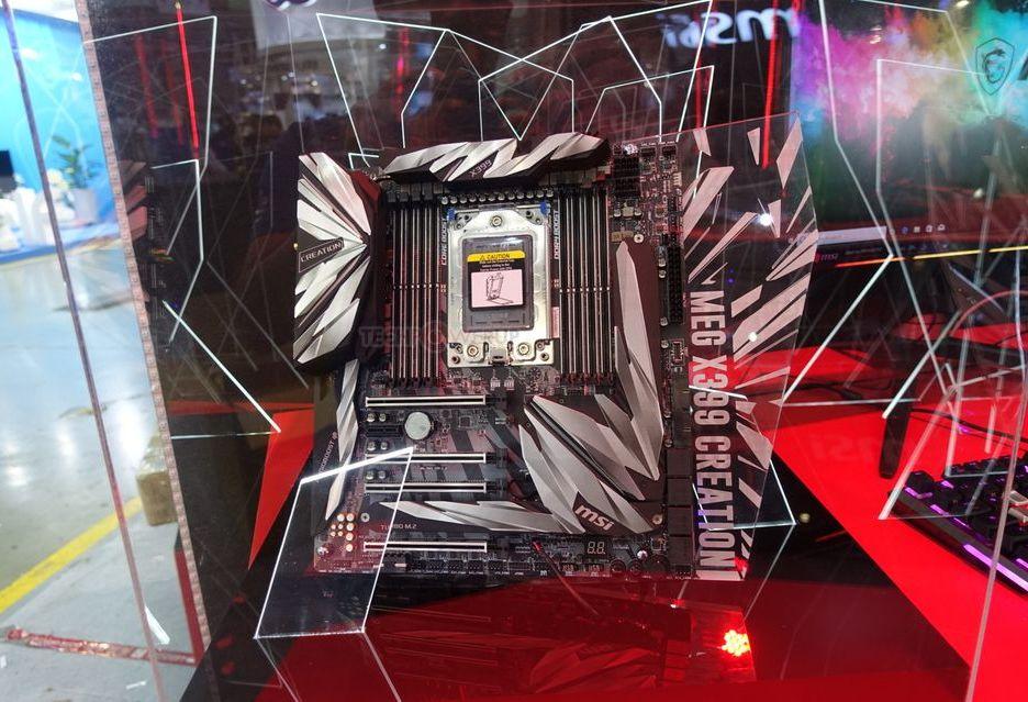 MSI prezentuje swoją topową płytę pod Ryzen Threadripper - MEG X399 Creation