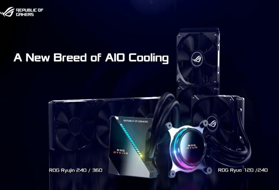 ASUS wchodzi na rynek chłodzeń AiO - modele ROG Ryujin i Ryuo