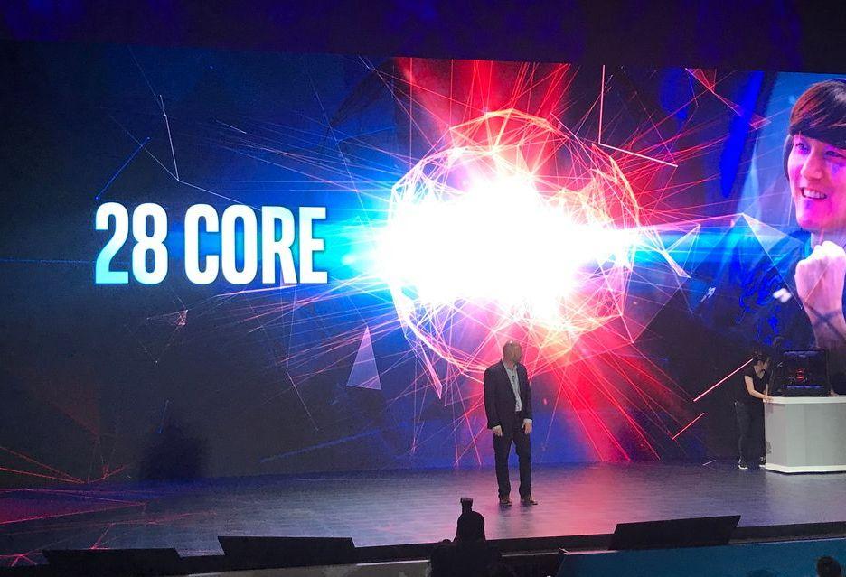 Intel prezentuje 28-rdzeniowy procesor Cascade Lake-X - wydajność robi wrażenie [AKT.]