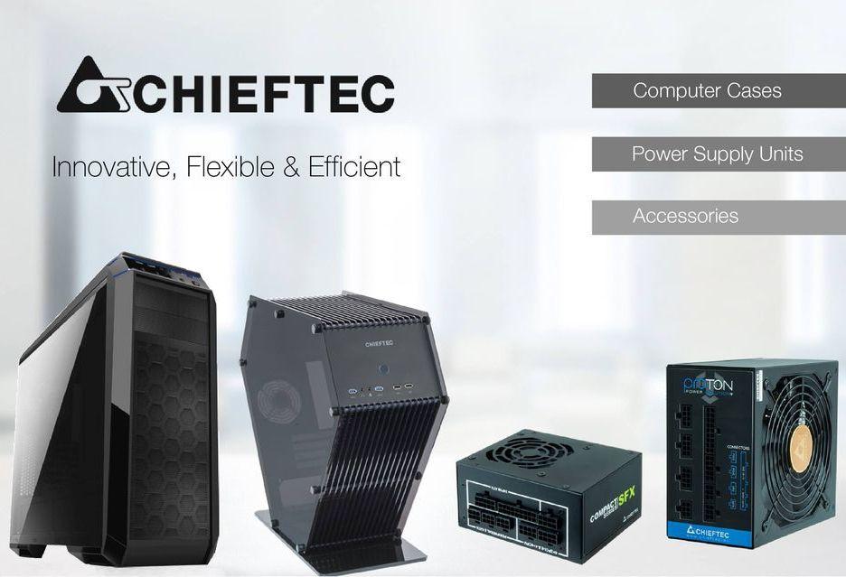 Chieftec szykuje nowe obudowy - prezentacja na CeBIT 2018