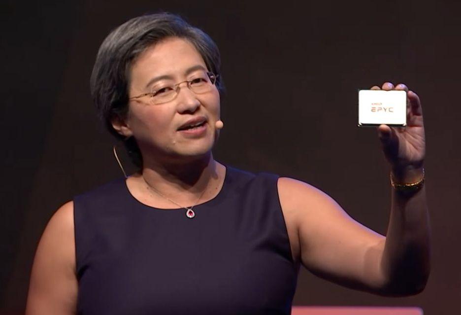 AMD chwali się procesorem Epyc 2 w 7 nm