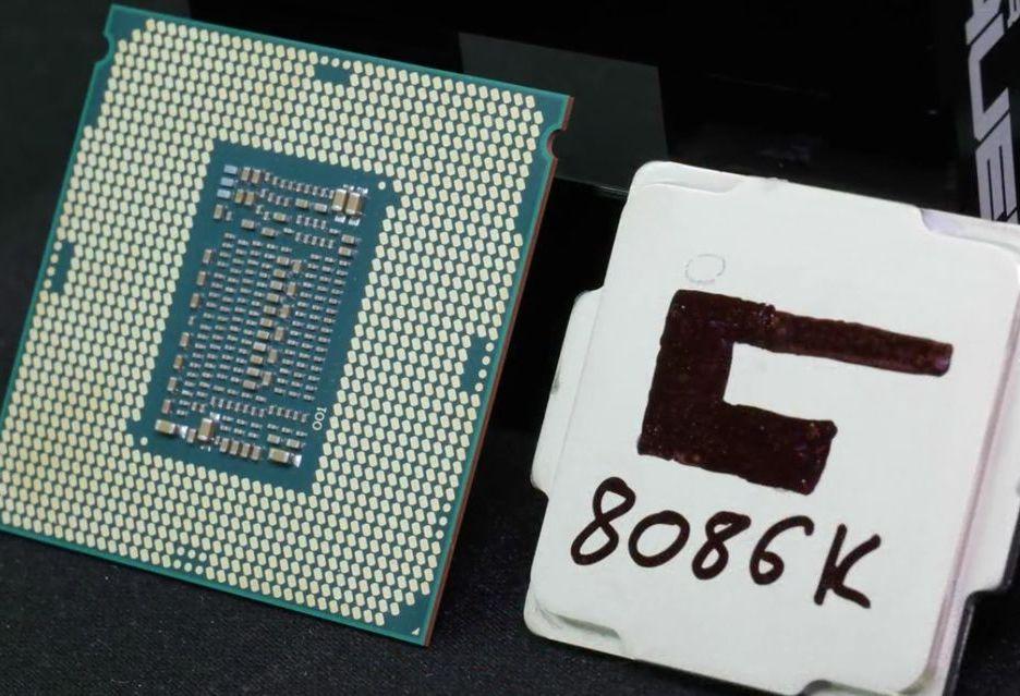 Lut czy glut - skalpowanie Intel Core i7-8086K