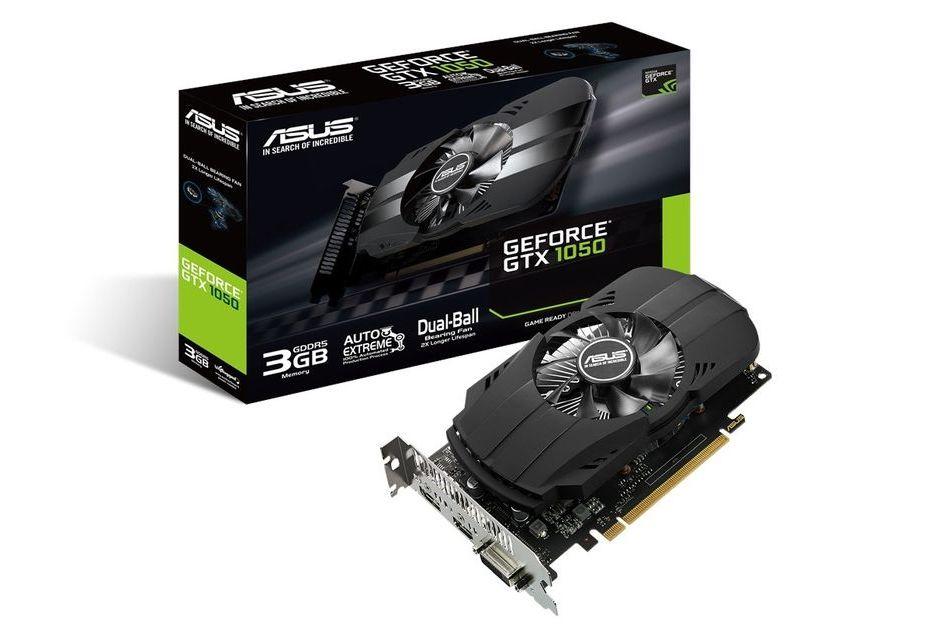 ASUS też ma GeForce'a GTX 1050 w wersji z 3 GB pamięci VRAM