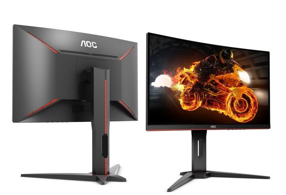 AOC prezentuje trzy monitory z serii G1 - FreeSync, zakrzywiona matryca i niezła cena