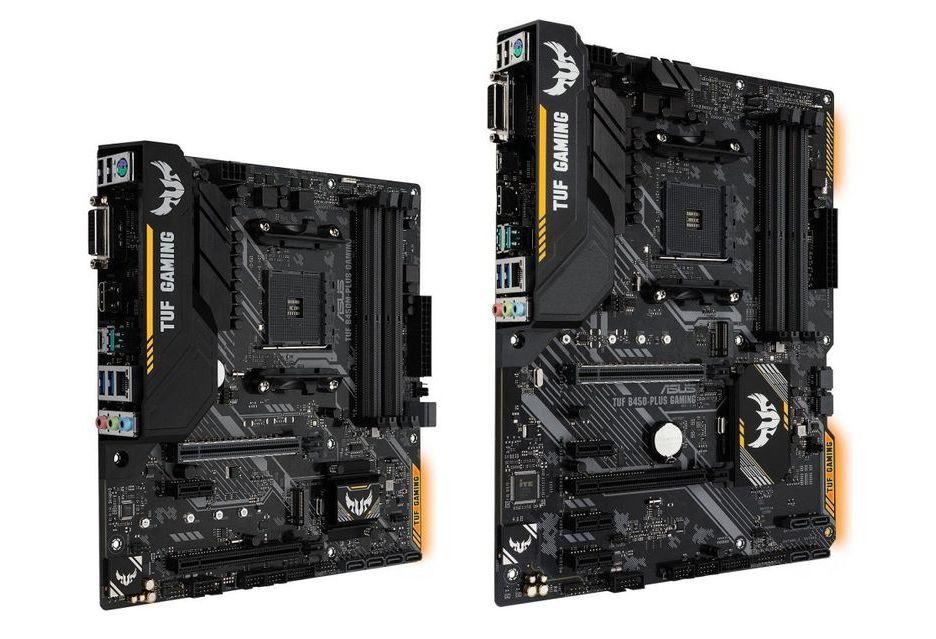 ASUS TUF B450M-Plus Gaming i B450-Plus Gaming - nadchodzą tańsze płyty pod Ryzen