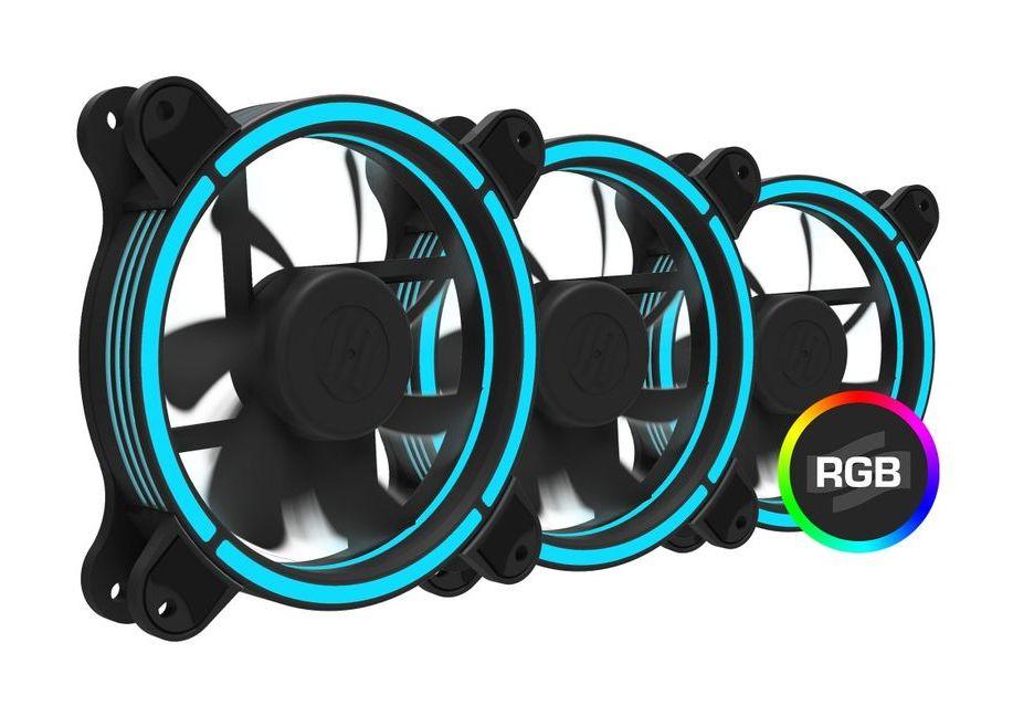 Sigma Pro Corona RGB 120 - SilentiumPC przedstawia swoje pierwsze wentylatory RGB LED