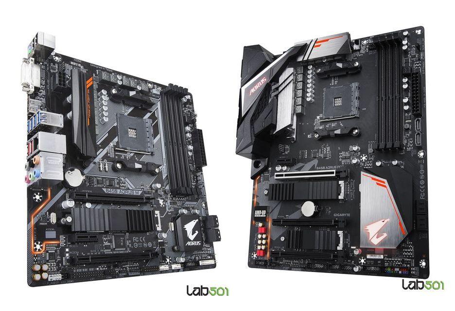 Gigabyte B450 Aorus M i B450 Aorus Pro - gamingowe płyty pod AMD Ryzen 2000