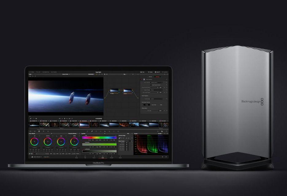 Apple Blackmagic eGPU - stacja graficzna dla laptopów MacBook