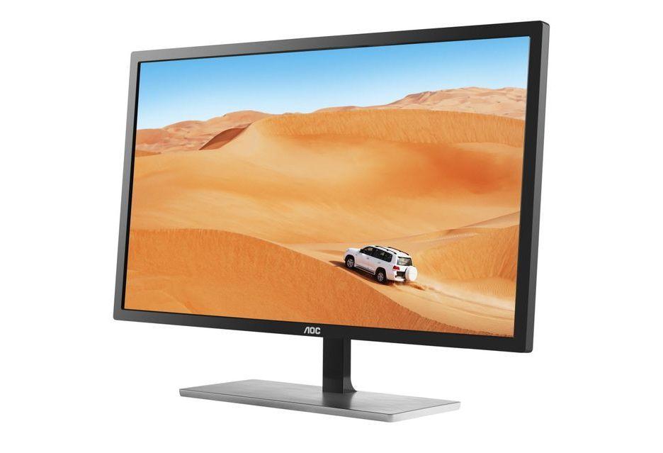 AOC Q3279CVWFD8 - ciekawy monitor IPS WQHD za 1000 zł