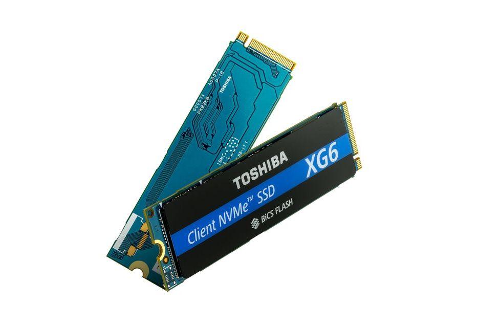 Toshiba prezentuje nośniki XG6 z nowymi pamięciami BiCS4 3D TLC NAND