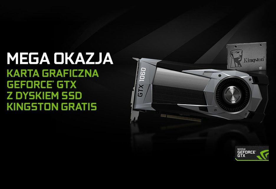 Nvidia dorzuca SSD do kart GeForce GTX 1050, GTX 1050 Ti i GTX 1060