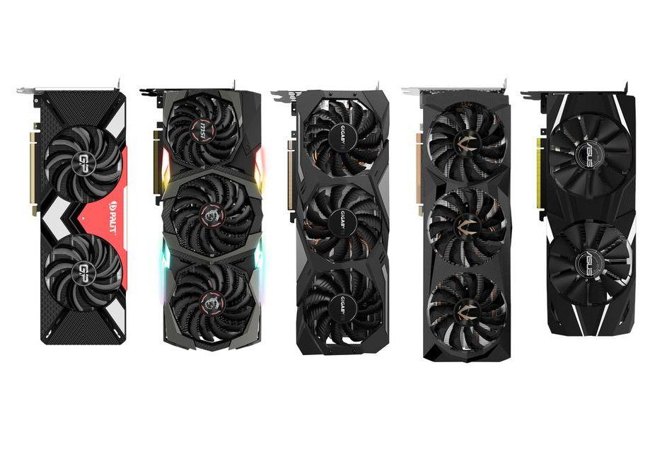 GeForce RTX 2080 i RTX 2080 Ti - przegląd niereferencyjnych modeli
