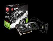 MSI GeForce RTX 2080 i RTX 2080 Ti w wersji z hybrydowym chłodzeniem Sea Hawk X