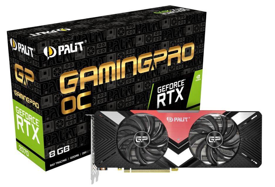 Palit GeForce RTX 2070 w wersji GamingPro i GamingPro OC - autorskie konstrukcje Turing
