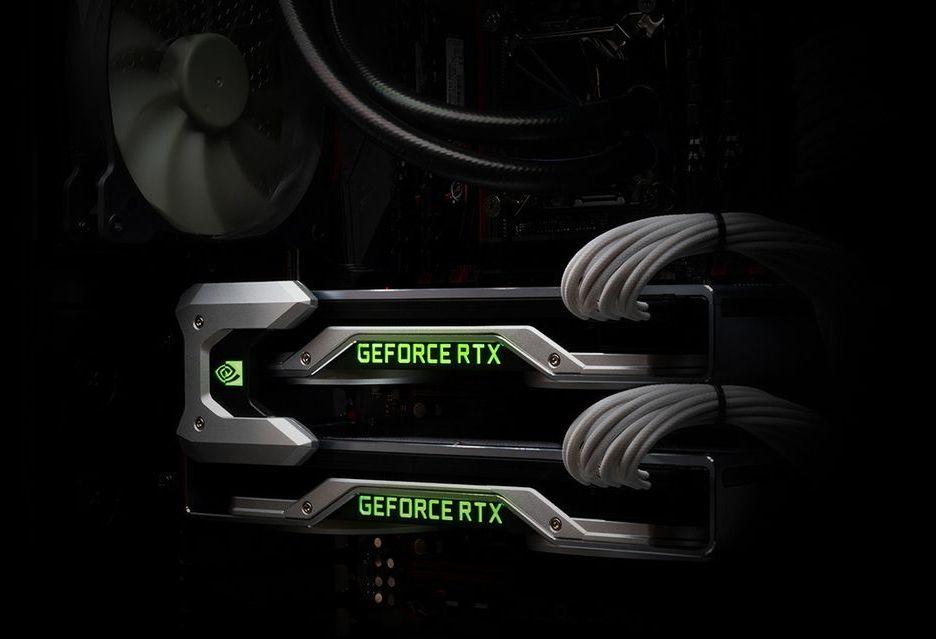 Łączenie kart GeForce RTX 2000 w SLI - nowe mostki NVLink już dostępne