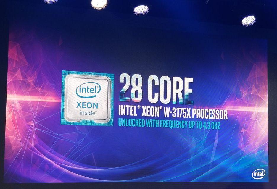 Xeon W-3175X - Intel zapowiada najpotężniejszy 28-rdzeniowy procesor dla entuzjastów