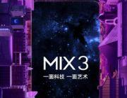 Poznaliśmy datę premiery Xiaomi Mi Mix 3