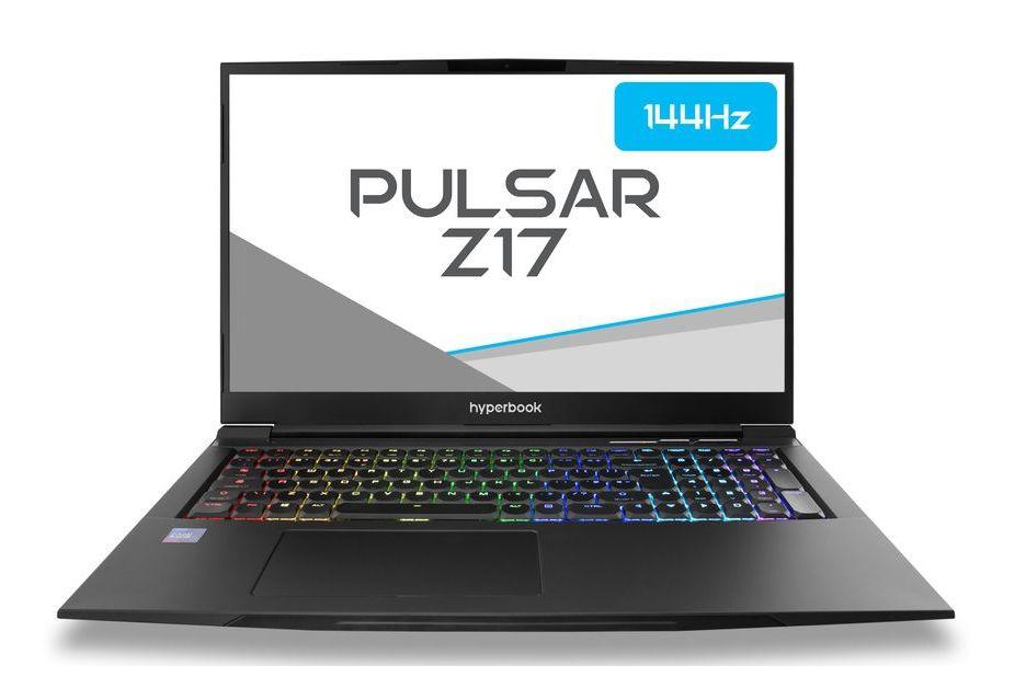 Hyperbook Pulsar Z17 - 17-calowy laptop do gier w 15-calowej obudowie