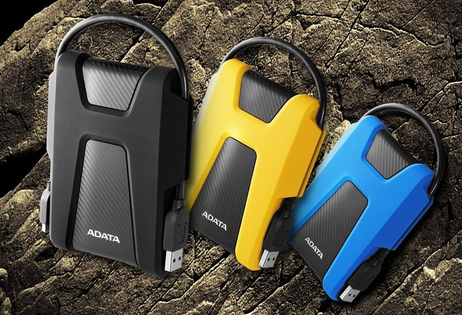 ADATA prezentuje nowe dyski zewnętrzne - wytrzymałe HD680 i smukłe HV320