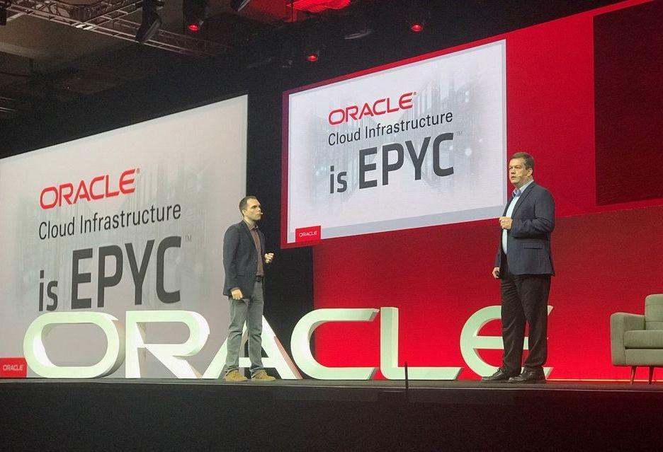 Oracle wprowadza do oferty instancje na bazie procesorów AMD Epyc