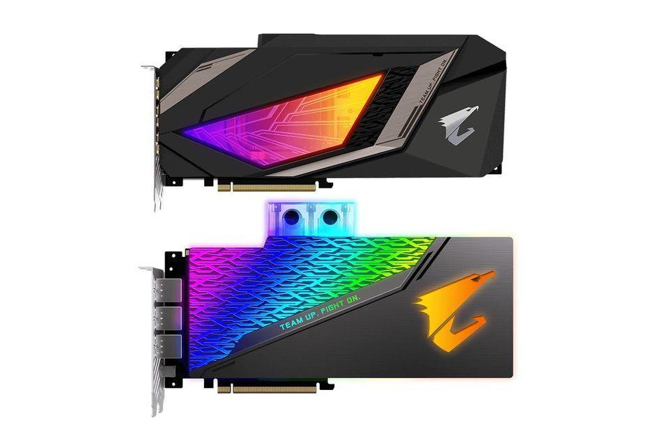 Gigabyte woduje karty GeForce RTX 2080 i 2080 Ti - modele WaterForce i WaterForce WB