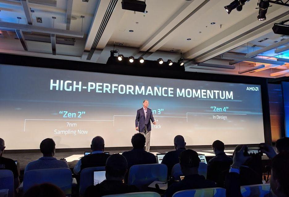 AMD ujawnia szczegóły o procesorach Zen 2 [AKT. 2 - AMD odnosi się do IPC]