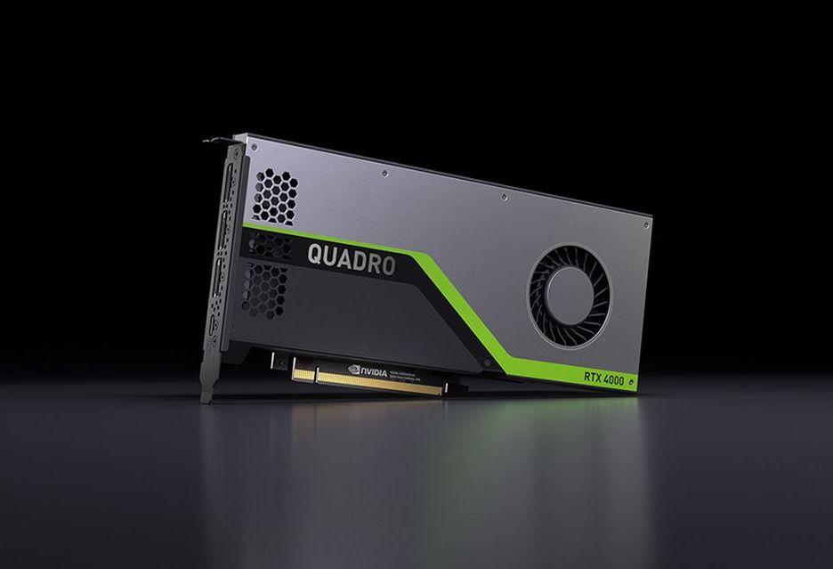 Profesjonalny Turing w dobrej cenie - Nvidia prezentuje Quadro RTX 4000