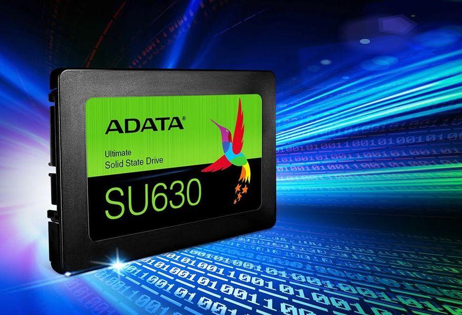ADATA SU630 - budżetowe SSD z pamięciami 3D QLC NAND [AKT. znamy ceny]