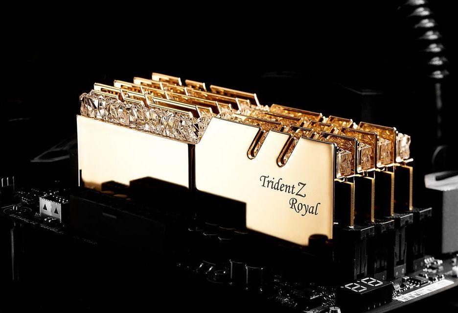 G.Skill Trident Z Royal - tak wyglądają prestiżowe pamięci DDR4 RAM