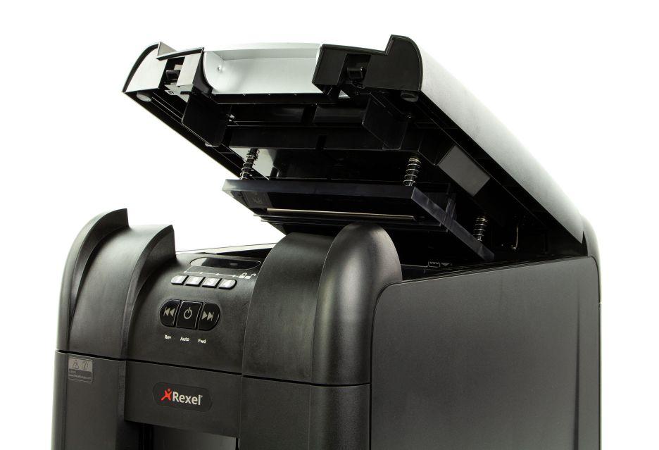 Niszczarka Rexel Auto+ 300M - rzut okiem | zdjęcie 4