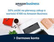 Nawet 50 euro rabatu za założenie konta Amazon Business