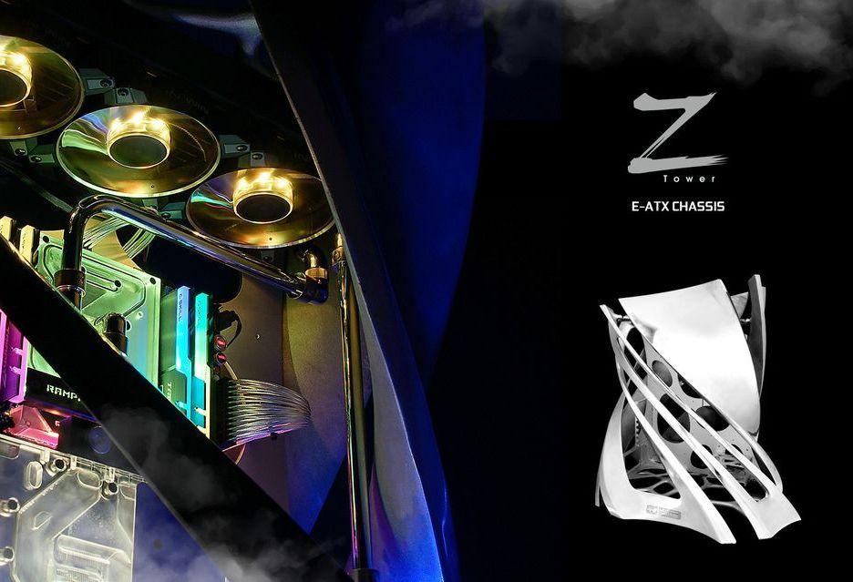 In Win Z-Tower - obudowa niczym dzieło sztuki [AKT. Cena? Też jak za dzieło sztuki]