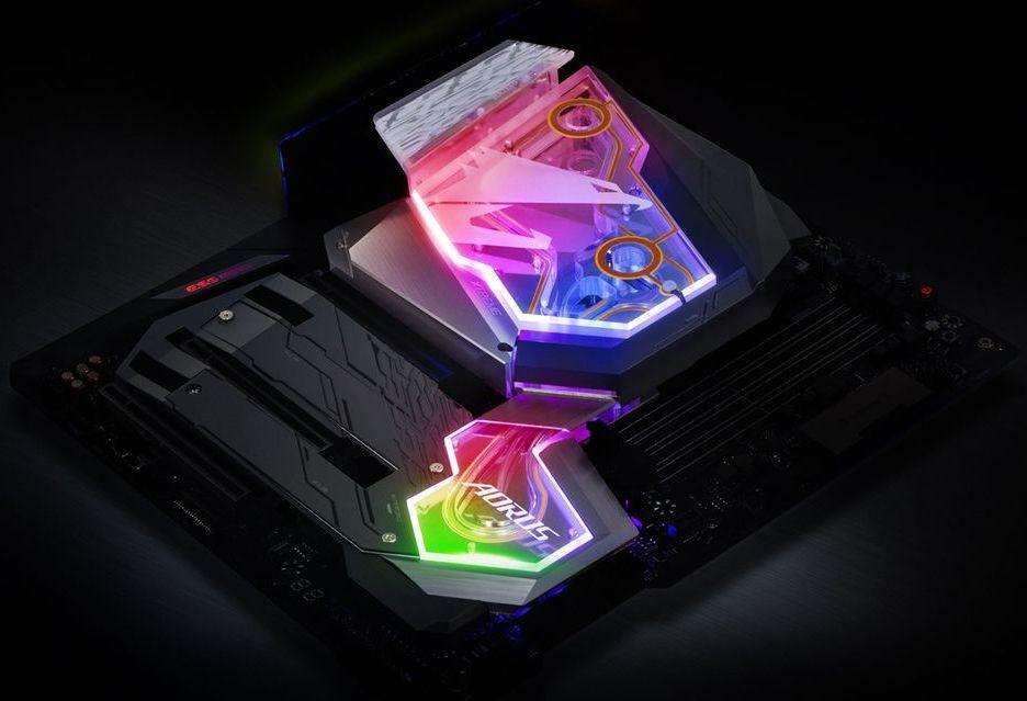Gigabyte Z390 Aorus Xtreme WaterForce - ekstremalna płyta do wodowania