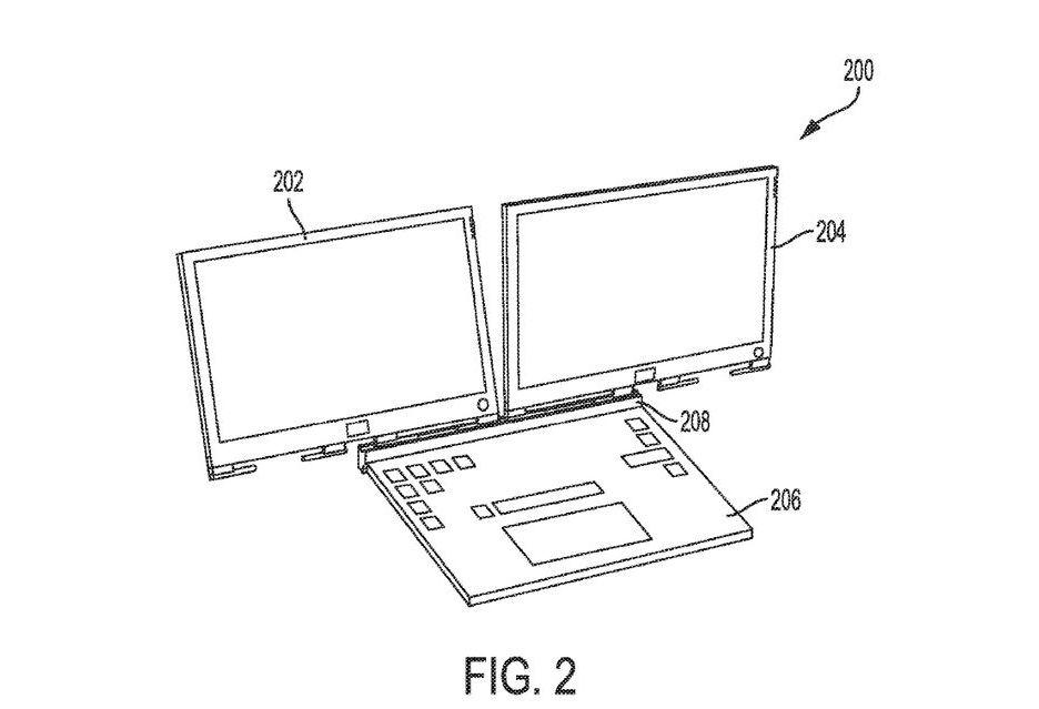 Dell patentuje laptopa z dwoma odłączanymi ekranami - czy to nie przesada?